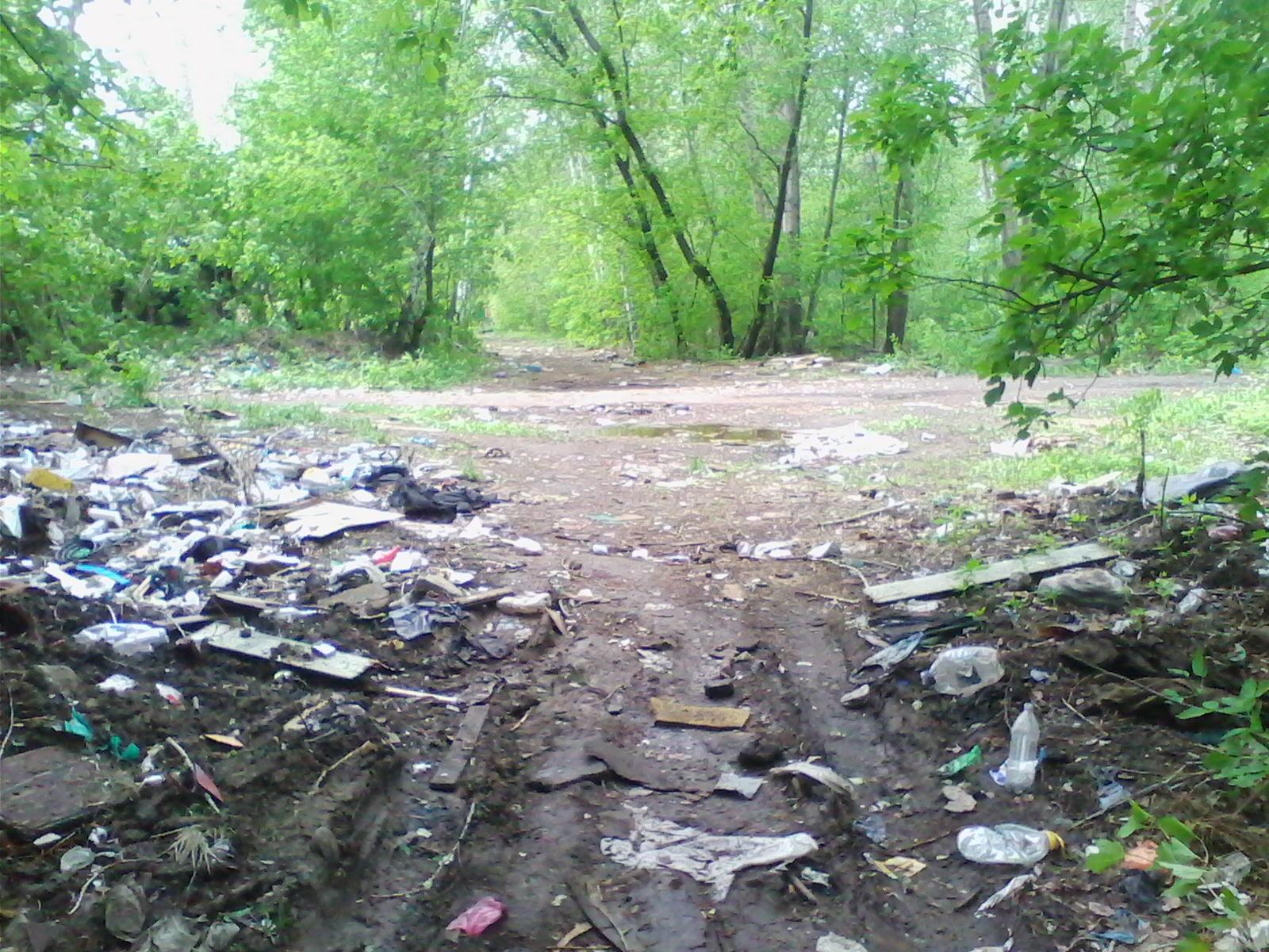 Омский мусор