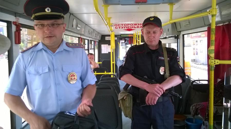 Чекисты командуют полицаями