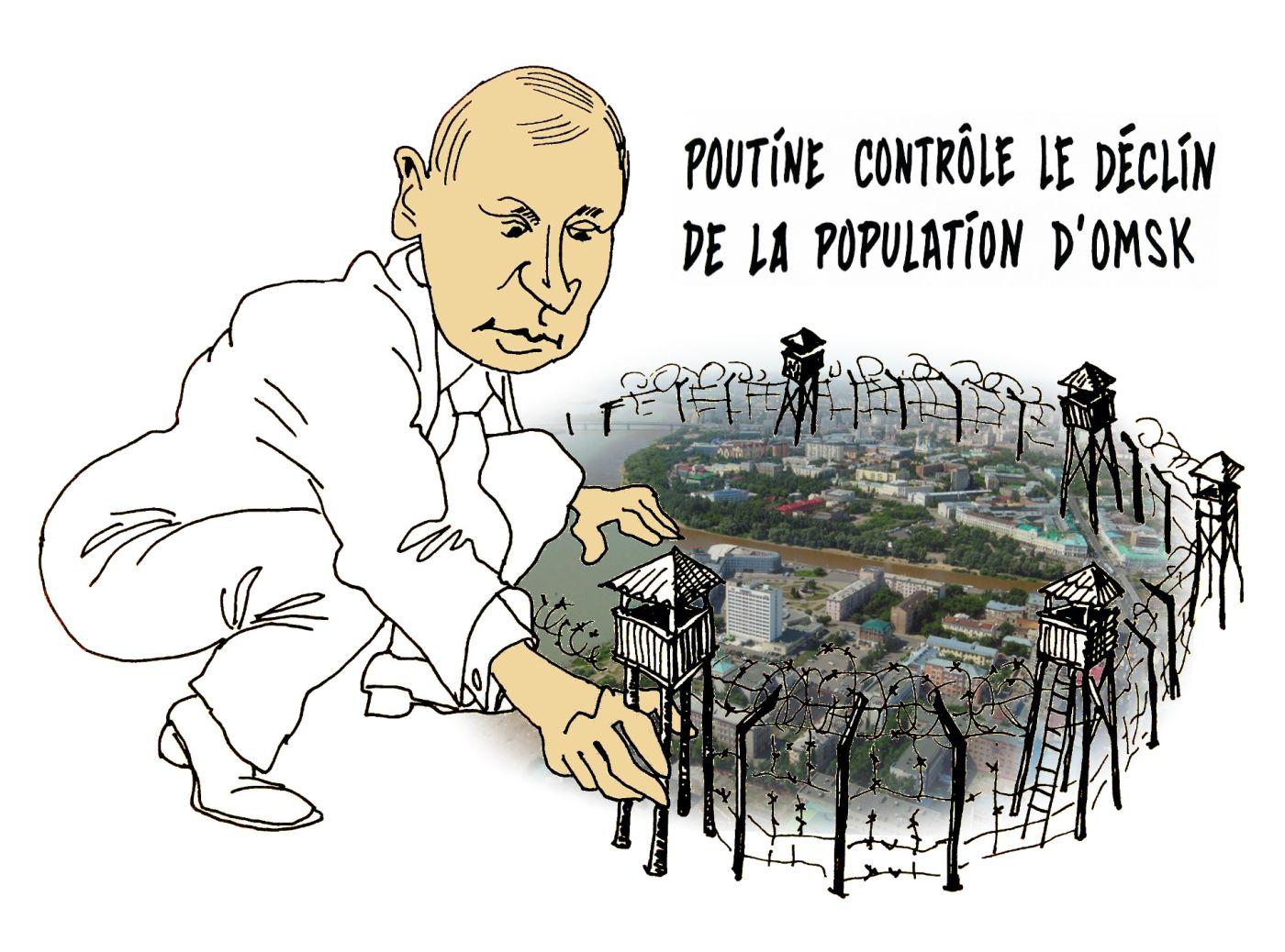 Путин-контролёр бегства из Омска