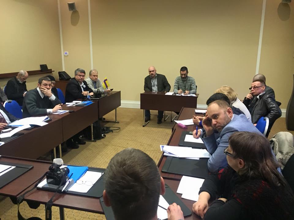 Модераторы регионалистской секции на Первом ФСР