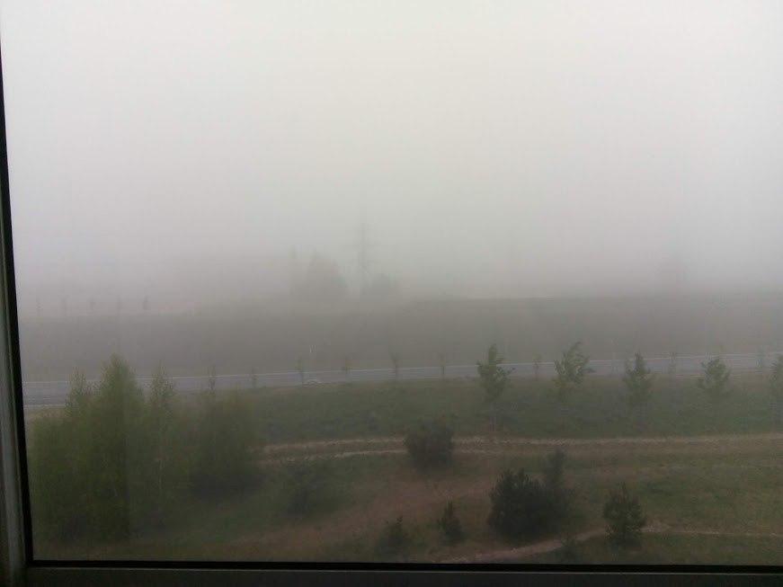 Туман в Вильнюсе