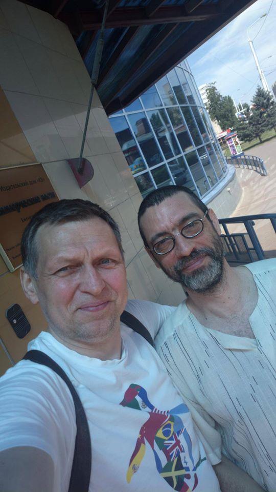 Сергей Буш и Виктор Корб в Омске