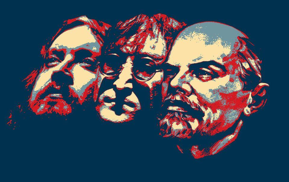 Фотожаба © Виктора Корба «Летов, Леннон, Ленин»